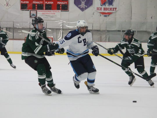 Nic Lidondici (15) of CBA battled in a 3-1 loss to Delbarton.