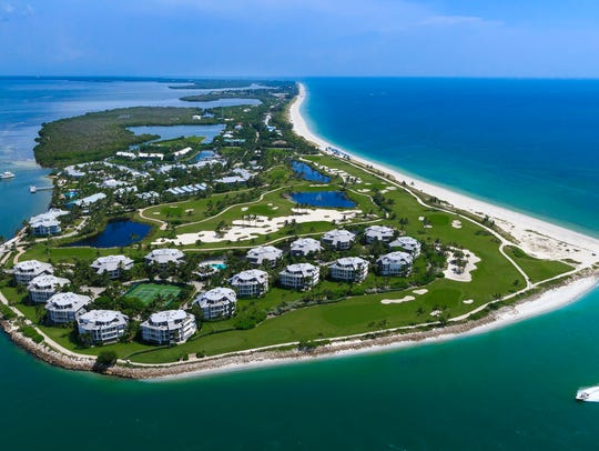The 330-acre, 465-unit South Seas Island Resort on