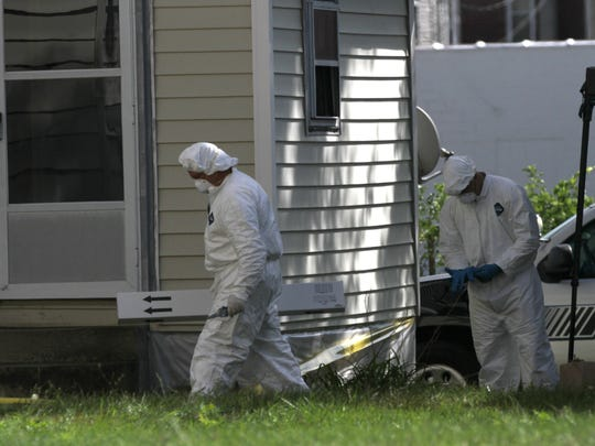 The Ashland Police Department, along with the Ohio Bureau of Criminal Investigation Crime Scene Unit, looked into a house on Covert Court in September. Ashland police Chief David Marcelli said two bodies were found within the home.