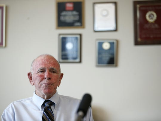 "State Attorney Willie Meggs announces that he will not seek re-election in 2016 for another term, from his office building in the Leon County Courthouse on Monday. ""It's going to be hard to walk out because I've been coming here just about every day of my life,"" said Meggs who was first elected to the post in 1985."