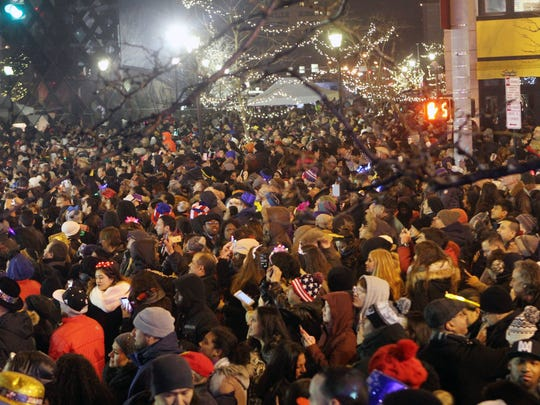 Thousands of revelers enjoy the festivities during