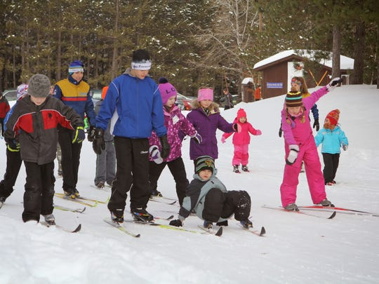 Children will have the chance to learn how to cross country ski through Snow Striders.