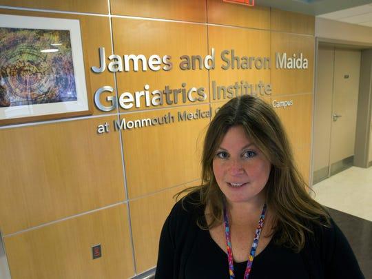 Dr. Jessica Israel, head of Barnabas Health's Geriatrics