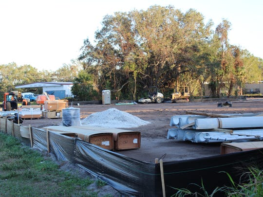 Construction of a Family Dollar is underway on Dairy