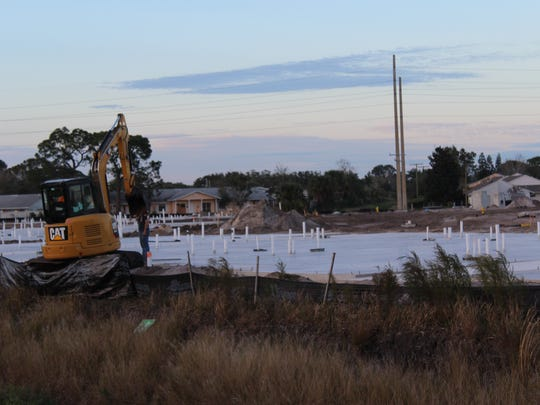 Construction continues on the Solamere Grand apartments