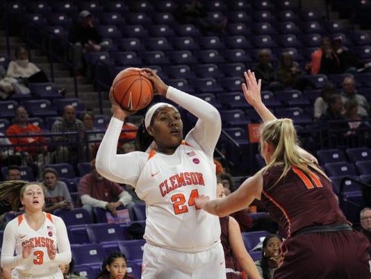 Clemson women's basketball Virginia Tech