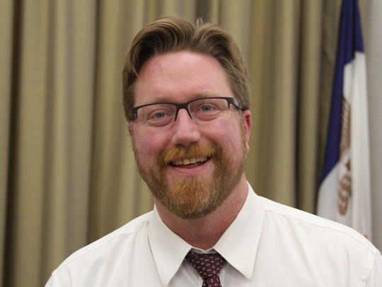 Iowa City Council member Rockne Cole