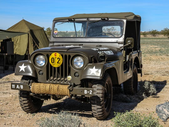 A military vehicle show in Tempe puts that history on display.