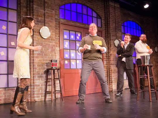Contestants have fun at a previous edition of Second City's Game Night.