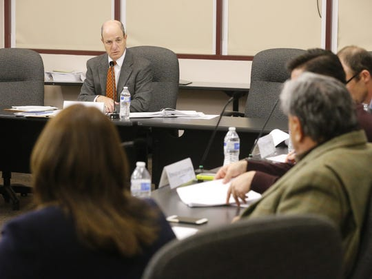 Ethics commissioners and City Attorney Sylvia Borunda Firth debated for more than an hour on whether the commissioners should have been able to review the complaints that had been filed against the mayor and four city council representatives over a possible violation of the Texas Open Meetings Act.
