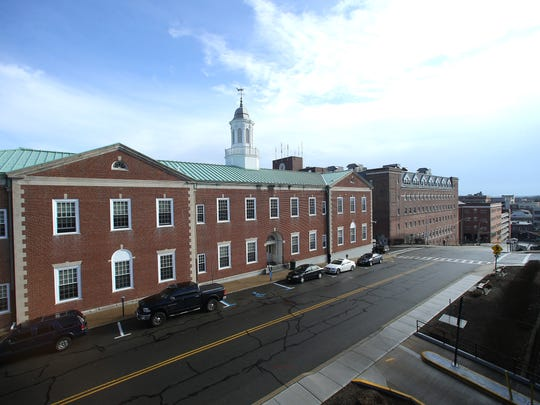 The Morris County courthouse, l,  and the Morris County