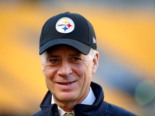 "Pittsburgh Steelers owner Art Rooney II says the perception that his team was a circus this past season is ""nonsense."" AP FILE PHOTO"