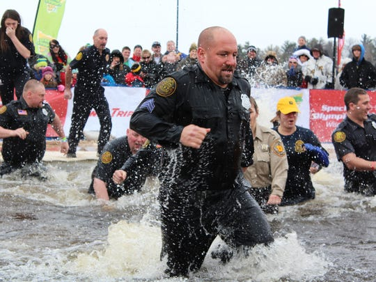 Special Olympics Wisconsin hosted a Polar Plunge on