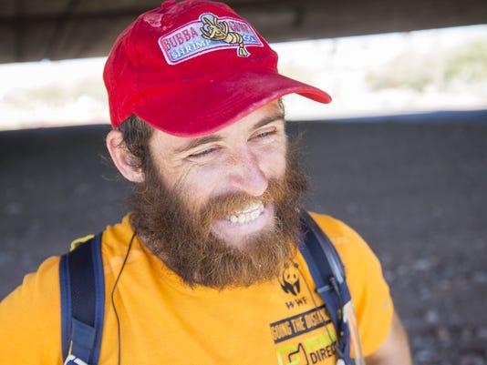 Marathon runner Rob Pope