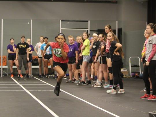 Jaylen Smith winner of Kentucky's Best female Athlete