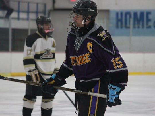 Alex Phipps had a goal in St. Rose's 4-2 loss to Point