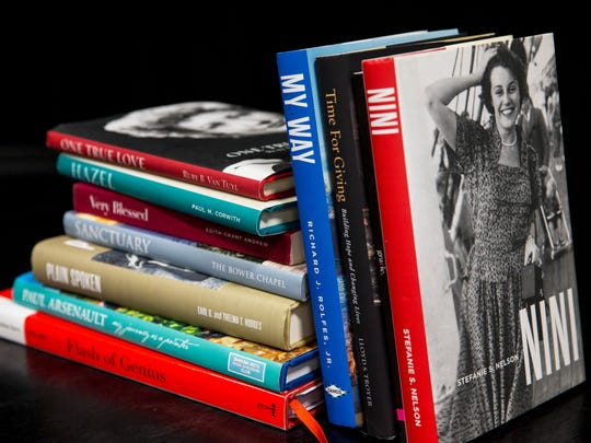 Books authored by ghost writer Mary Jane Robinson focus on the preservation of personal, family, and corporate histories.