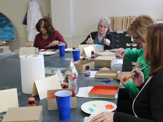 A compassion fatigue workshop hosted for free by the Noel Community Arts Program aimed to give social workers a chance to take care of themselves.