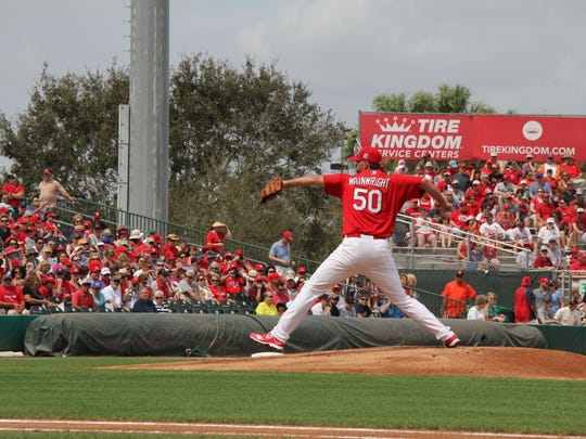Adam Wainwright, a one-time ace, has a young St. Louis Cardinals staff around him and has the potential to be one of the best. See the young stars of St. Louis during spring training at Roger Dean Stadium in Jupiter's Abacoa community. Tickets are on sale now at www.rogerdeanstadium.com or by calling 561-630-1828.