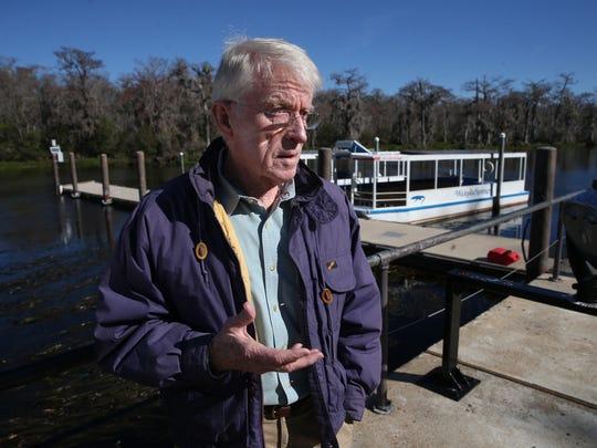Jim Stevenson, a former chief naturalist for Florida