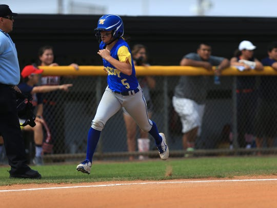 Jordan Meza was one of the top hitters for the Trojans in 2016.
