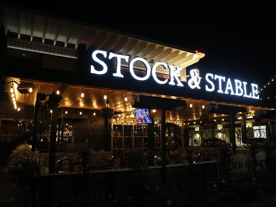 Signage for Stock and Stable on Jan. 27, 2017, in Phoenix.