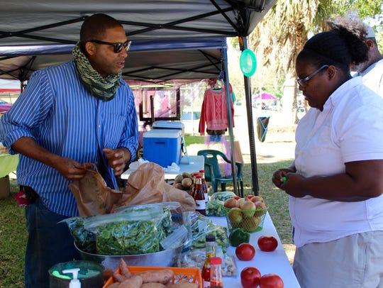 Marvin's Garden sells traditional vegetables grown