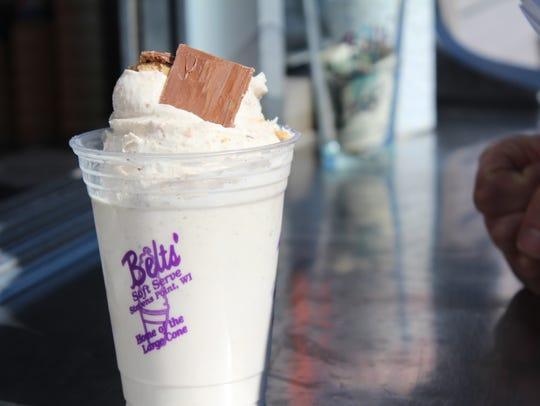 Belts' Soft Serve opened for business Friday morning