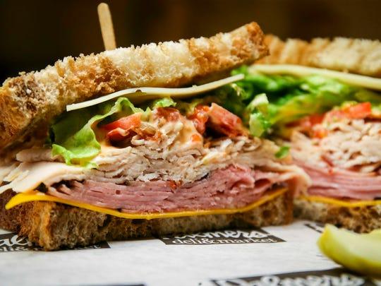Marshall Field sandwich at Palmer's Deli & Market