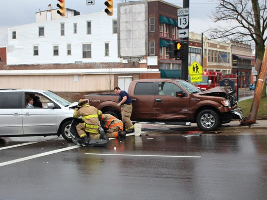 Crash at Fourth and Mulberry