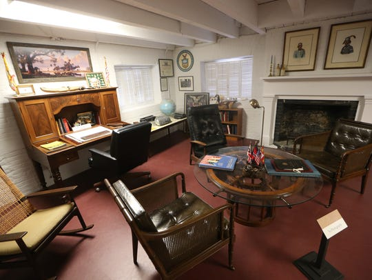 Inside look at the Grove Museum in Midtown on Tuesday.