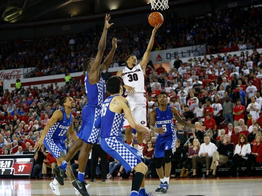 Georgia almost knocked off Kentucky in the regular