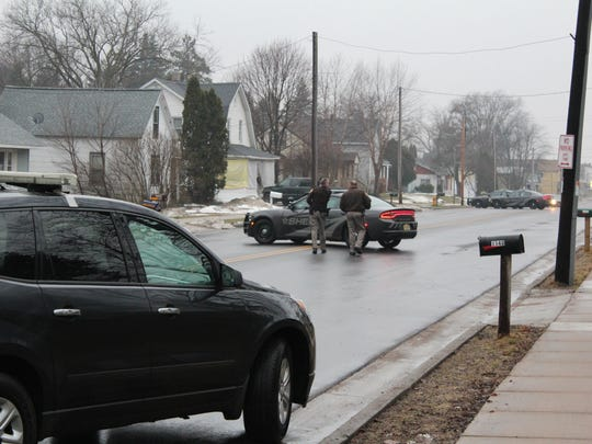 Police responded to a report of a gunshot during a dispute between neighbors Monday afternoon in Junction City.