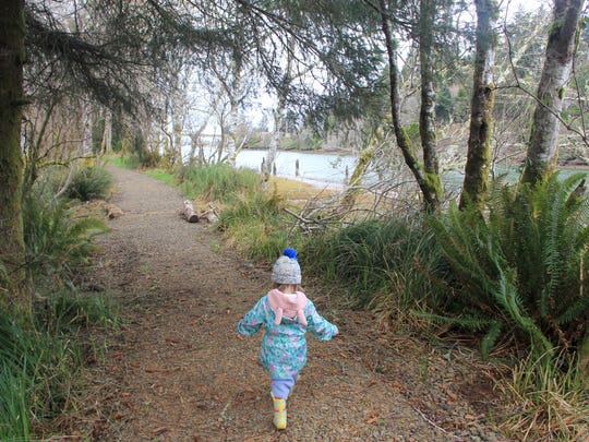 The Alder Island Nature Trail opens up a part of Siletz