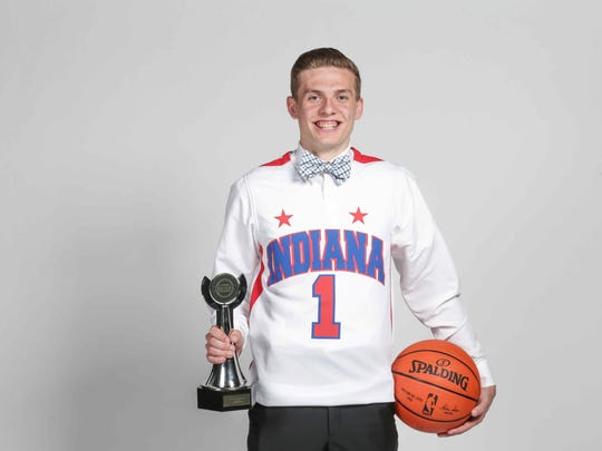 2017 IndyStar Mr. Basketball Kyle Guy from Lawrence
