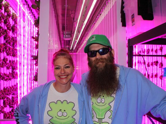 Heather and Brian Szymura, owners of Twisted Infusion,