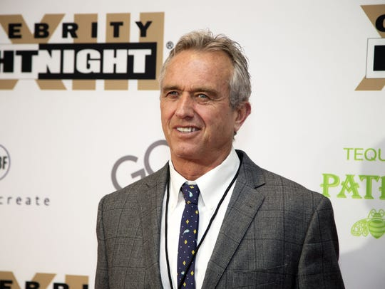 Robert F. Kennedy, Jr. on the red carpet for Celebrity Fight Night on Mar. 18, 2017 at JW Marriott Desert Ridge Resort & Spa in Phoenix, Ariz.