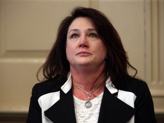 Teresa Higgins, former wife of victim Patrick Gilhuley,