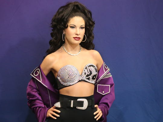The wax figure crafted in the likeness of Selena Quintanilla