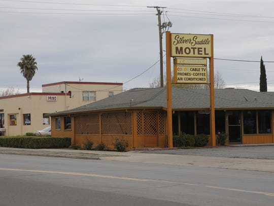 A shooting erupted at the Silver Saddle Motel on Tuesday,