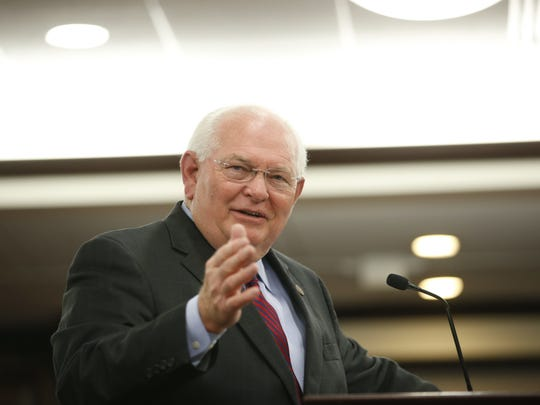 Sen. Bill Montford, D-Tallahassee, has consistently advocated to increase state worker pay.