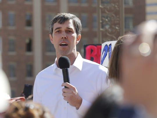 U.S. Rep. Beto O'Rourke, D-El Paso, announces his run