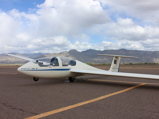 The White Sands Soaring Association's newest motor