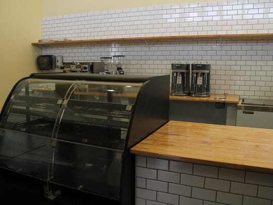 The new space at the Kitchen will have pastries available in the case, including a variety of muffins and doughnuts.