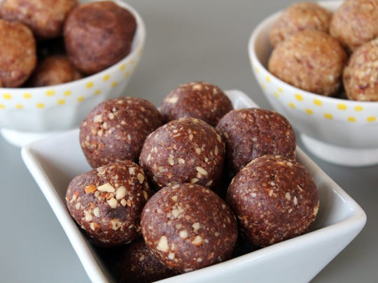 Homemade energy bites can be made in a large batch
