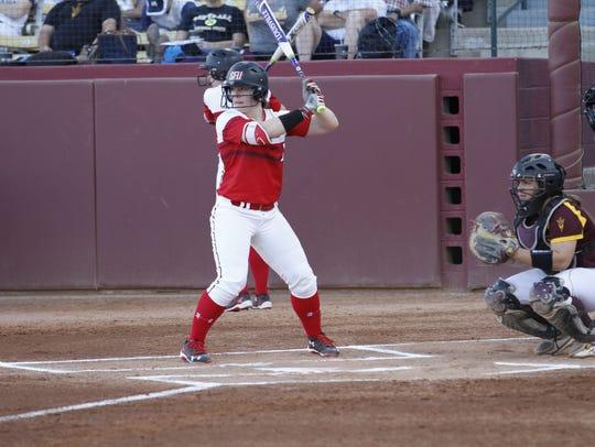 Spring Grove graduate Hayley Norton is batting .318