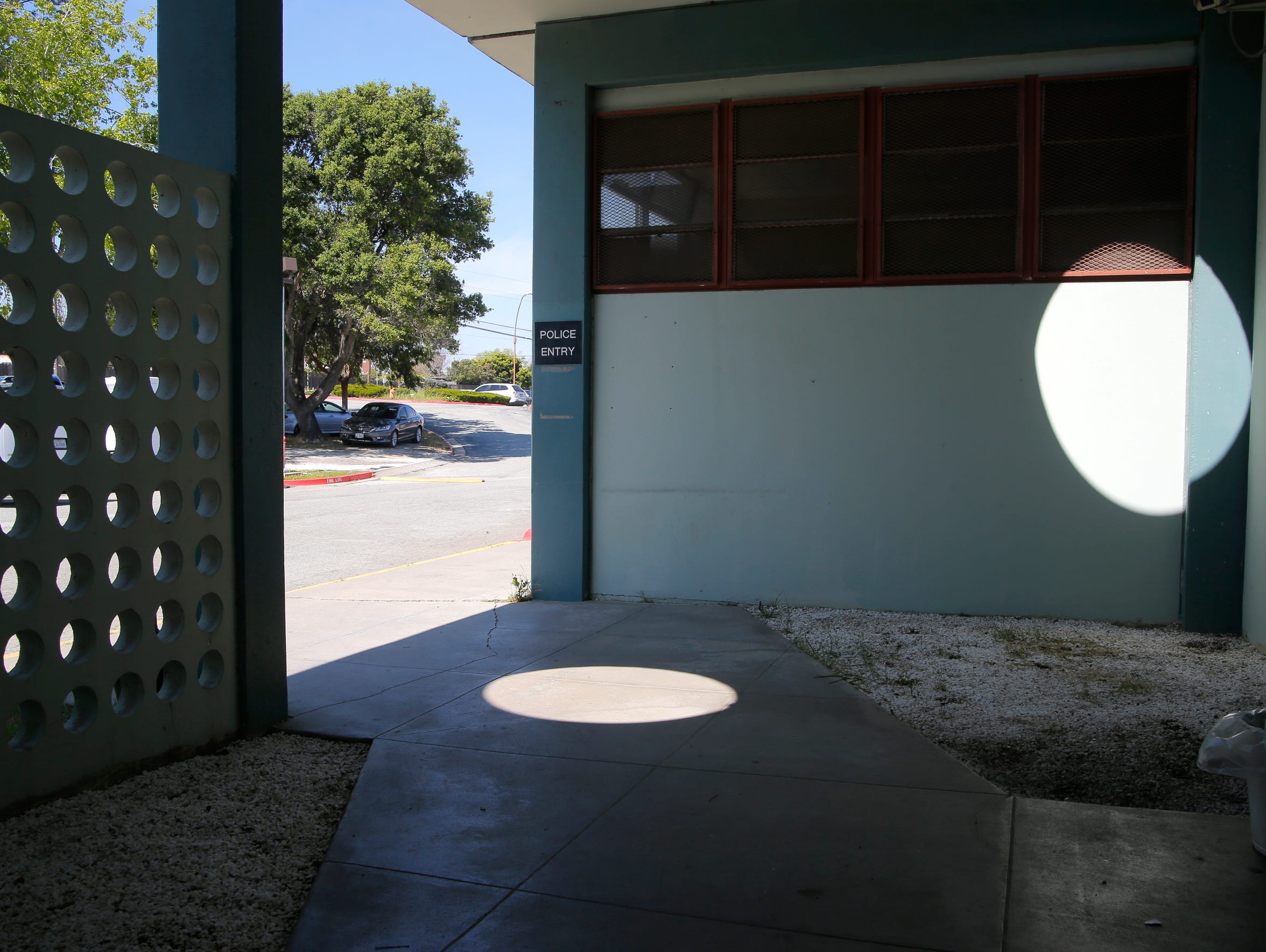 The existing juvenile hall does not have a sally port,