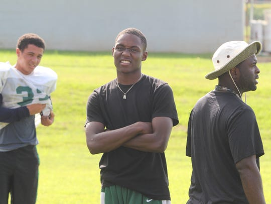 Northwest football star Shatar McClay has committed