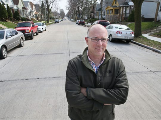 Milwaukee City Engineer Jeff Polenske is charged with keeping deteriorating city streets in shape.