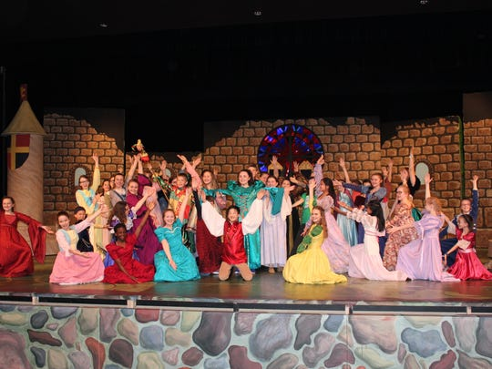 """""""Once Upon a Mattress"""" will take the stage April 20-23 at D.C. Everest Senior High."""